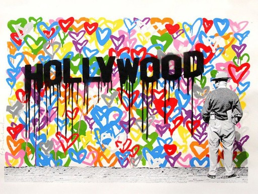 MR BRAINWASH - Grabado - Hollywood