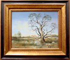 BERTRAN - Painting - Paysage