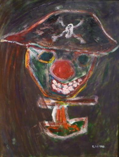 Bernard GERBAL - Peinture - LE PIRATE