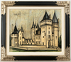 Bernard BUFFET - Painting - Chateau La Coudray Montpensier