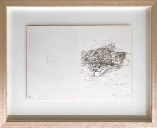 "Joseph BEUYS - Print-Multiple - ""Weg zum Moor"""