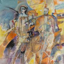 Ilie CIOARTA (1942) - Lumina de august (De gloed van augustus)    (Cat N° 5054)