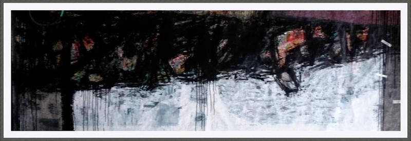 Kakhaber TATISHVILI - 绘画 - Composition