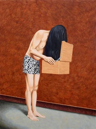 Erlend STEINER LOVISA - Painting - Erlend 9 (Pandora's Box) (Cat N° 3672)