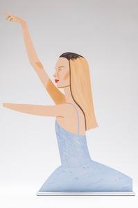 Alex KATZ - Escultura - Dancer 2 (Cutout)