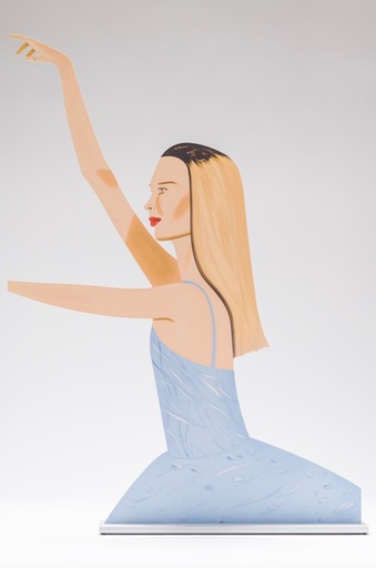 Alex KATZ - Escultura - Dancer 2 (Cutout)