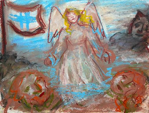 Henriette BARÉTY - Drawing-Watercolor