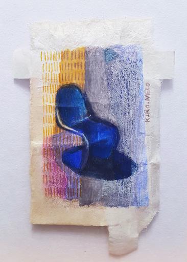 Marie LHOMET - Drawing-Watercolor - « Panton chair, Vitra »