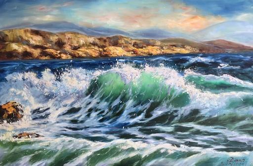 Diana MALIVANI - Gemälde - The Sea. Cyprus