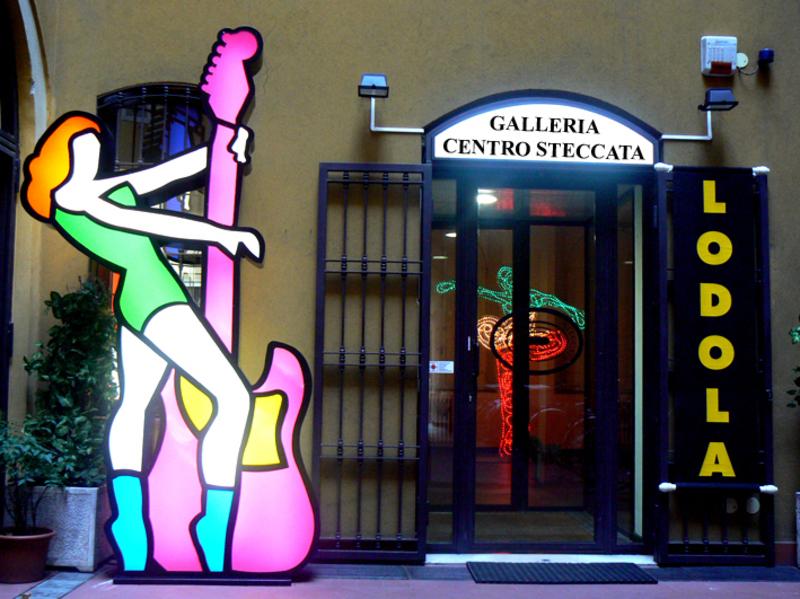 Marco LODOLA - Sculpture-Volume - Love me Fender