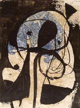 Joan MIRO (1893-1983) - La Commedia dell'Arte: Plate VIII