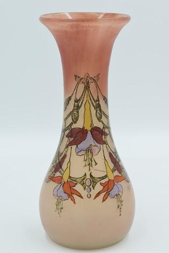 François-Théodore LEGRAS - Vase ovoïde haut col évasé