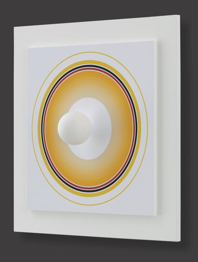 Antonio ASIS - Grabado - Asistype 9 - boule sur cercle