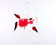Shozo SHIMAMOTO - Painting - Hole Esquisse