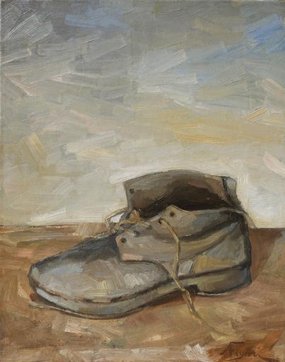 Andrea FIGARI - Peinture - scarpa