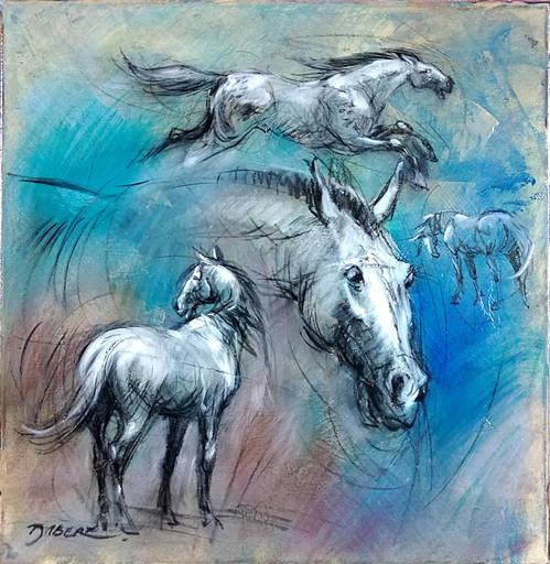 Pascal DABÈRE - Gemälde - Liberté