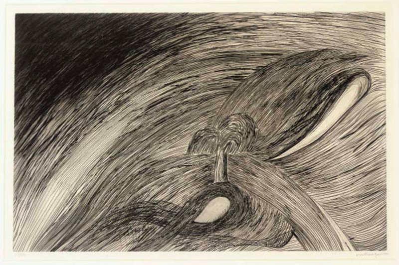 Louise BOURGEOIS - Stampa-Multiplo - STORM AT SAINT HONORÉ (WYE 146)