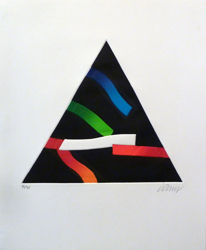 Bertrand DORNY - Estampe-Multiple - Sans titre