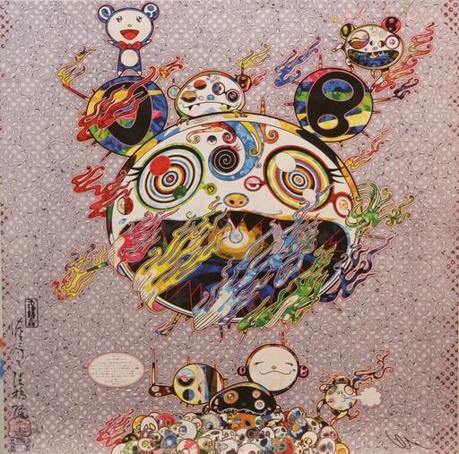 Takashi MURAKAMI - Grabado - Chaos