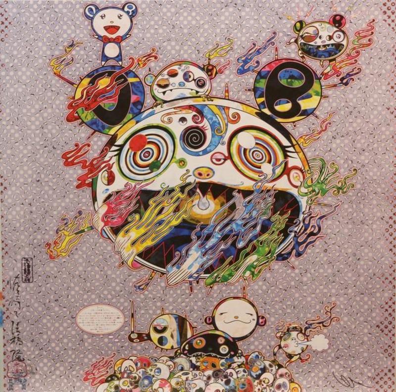 Takashi MURAKAMI - Estampe-Multiple - Chaos