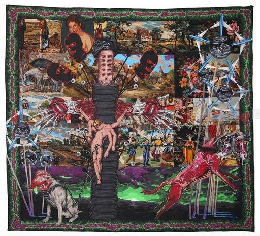 Lucien MURAT - Tapestry - Crevé