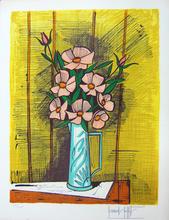 Bernard BUFFET - Stampa Multiplo - Camelias et Roses, 1982