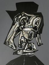 Antonio SAURA - Print-Multiple - Dora Maar visitada V