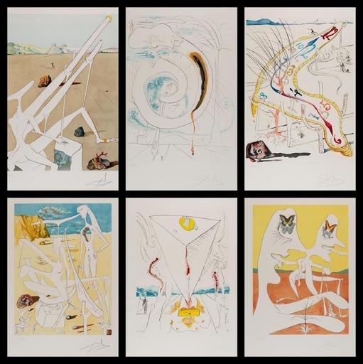 Salvador DALI - Stampa-Multiplo - Conquest of Cosmos Suite 1
