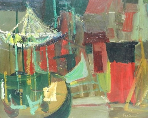 Jeanne PORTENART - Peinture