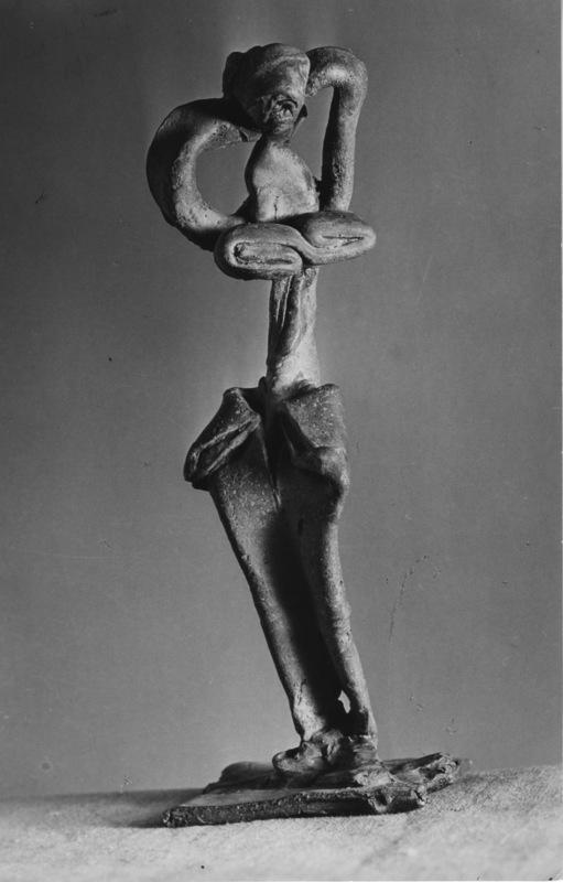 BRASSAÏ - Photo - Sculpture de Picasso