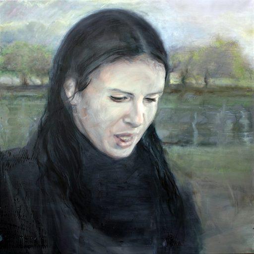 Nathalie BIBOUGOU - Painting - « Errance »