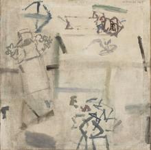 Manuel HERNÁNDEZ MOMPO - Pintura - Campesinos hablando