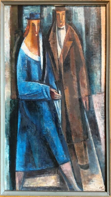 Ernst WOLFHAGEN - Gemälde - Paar