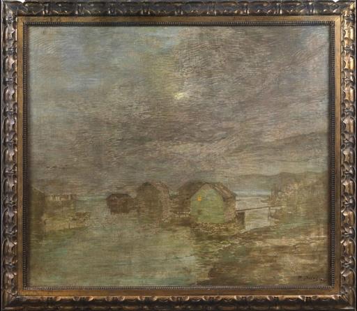 Bartolomeo BEZZI - Peinture - Poesia del fiume - Verona