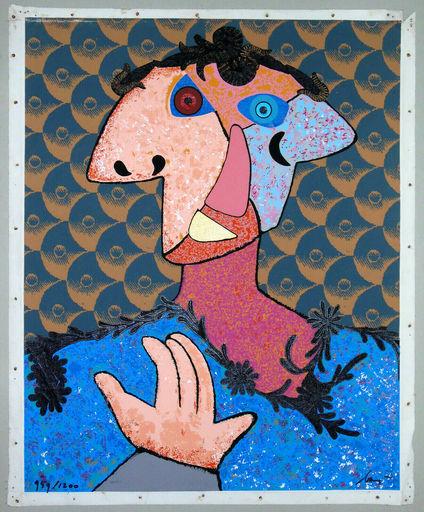 Enrico BAJ - Estampe-Multiple - Do Baj yourself
