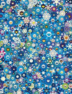 Takashi MURAKAMI - Grabado - An Homage to IKB 1957 F (Blue)