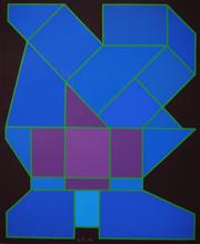 Achille PERILLI - Peinture - Il pianeta rarefatto