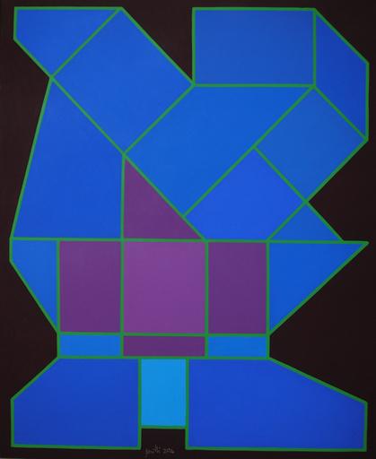 Achille PERILLI - 绘画 - Il pianeta rarefatto