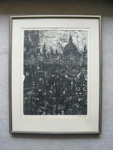 Rolf Dietrich RATZMANN - Grabado - London