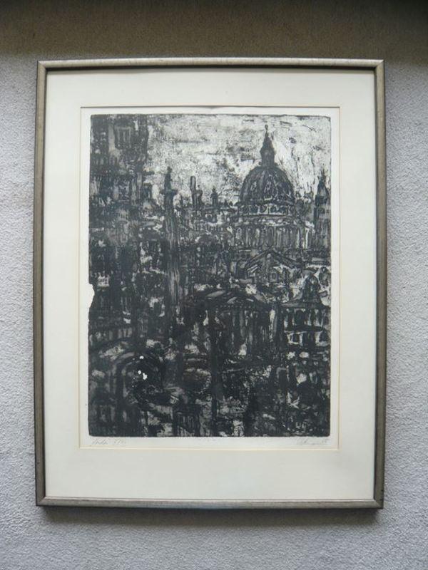 Rolf Dietrich RATZMANN - Estampe-Multiple - London
