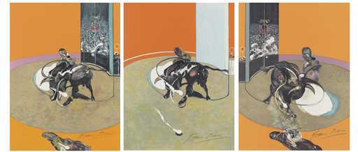 Francis BACON - Grabado - Miroir de la Tauromachie