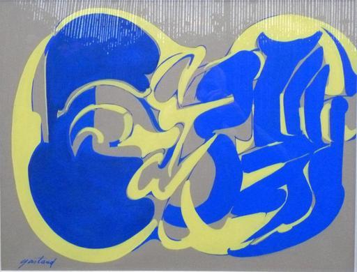 Pierre GASTAUD - Drawing-Watercolor - Abstraction