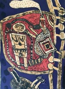 CORNEILLE - 版画 - Piege ,1971