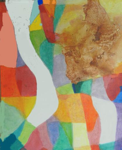 André TURPIN - Peinture - Riante Promenade
