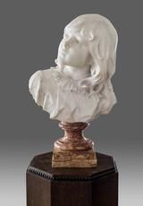 Vincenzo CADORIN - Sculpture-Volume - Mädchenbüste