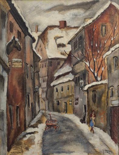 Emil GANSO - Gemälde - Sattler Meister (Saddle Master)
