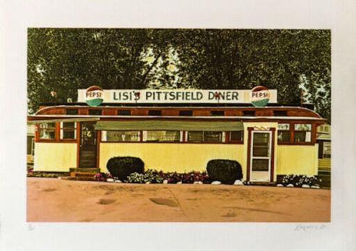 John BAEDER - Estampe-Multiple - Lil's Pittsfield Diner