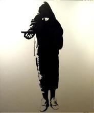 BLEK LE RAT - Peinture - The Beggar