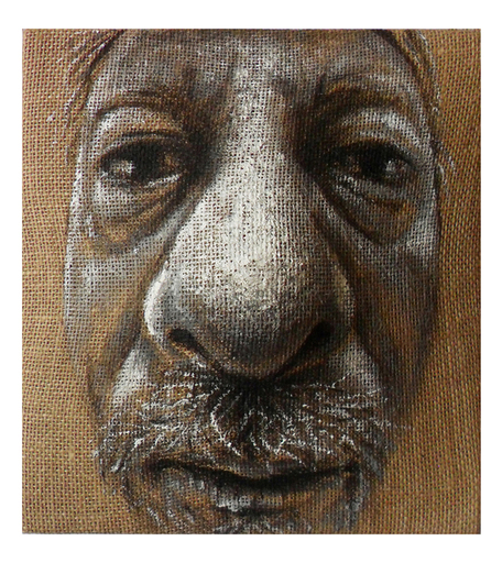 Maurizio CARIATI - Painting - Old portrait