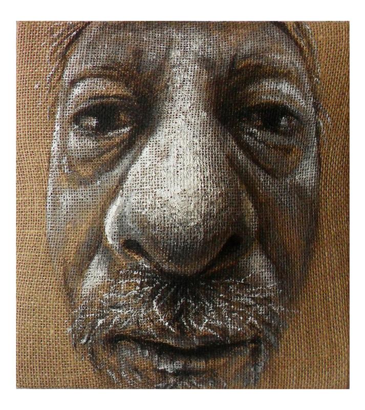 Maurizio CARIATI - Peinture - Old portrait
